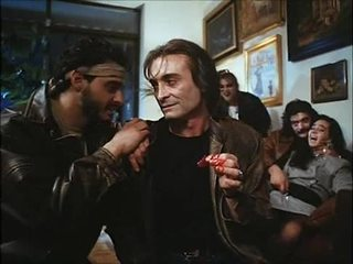 La noche del ejecutor (1992) スペイン語 birthday: 妻 & 娘 ファック & spoiled