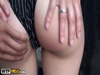 brunette, deepthroat, group sex