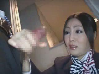 Japonesa hospedeira hj vídeo
