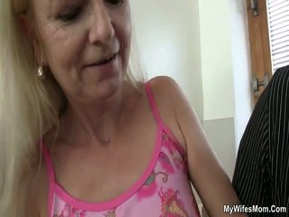 Old Mother Loves Cock