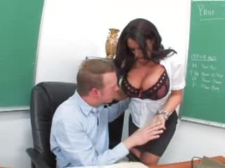 Kerry Louise and Mark Wood in Cougar High