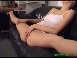 Excited Brunette Giving Mouth Fuck And Fucking