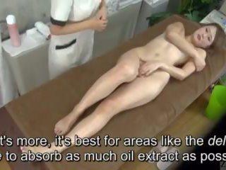Subtitled enf cfnf יפני לסבית clitoris מסג' clinic