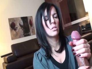 črna, oralni seks, deepthroat