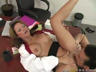 Busty Blonde Slut Gets Fucked Hard