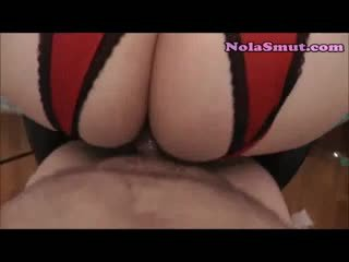 Chubby BBW In Crotchless Panties