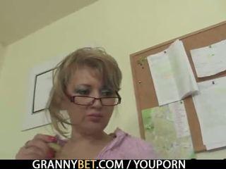 réalité, vieux, grand-mère