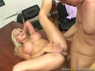 Savannah Gold gets a popload of cum on her juicy melons