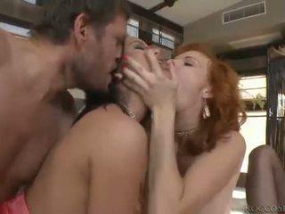 hardcore sex, oral sex, dobbel penetrasjon