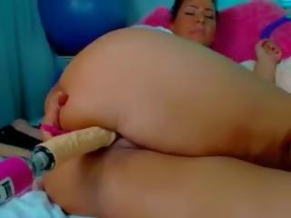 BBW Webcam Woman Having Fun, Free BBW Fun Porn 7e