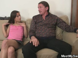 Mine Slut Involves Mine Fossils Inside 3some Screwing
