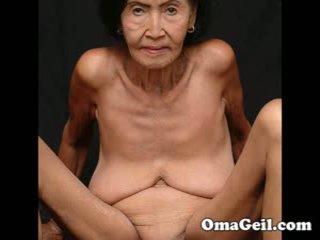 Omageil μεγάλος συλλογή γριά γιαγιάδες και senior γυναίκα