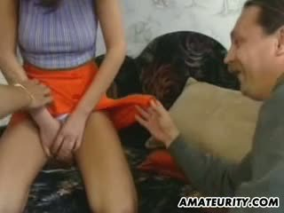 Amateur college girl homemade suck and fuck
