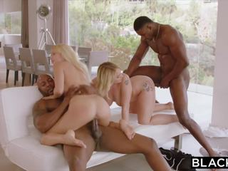 blowjobs, blondes, group sex
