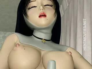 3d manga non in kniekousen dildo twat
