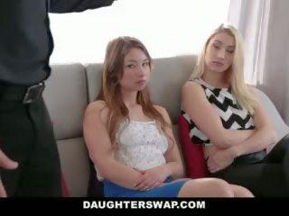 DaughterSwap - Tricking & Fucking Their Dads During Mardi-Gras