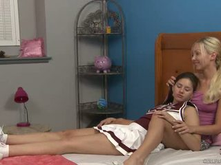 Shyla jennings і aaliyah любов на cheer camp