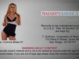 Busty blonde in high heels Corinna Blake fucking