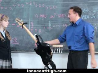 Innocenthigh- かわいい 赤毛 fucks 彼女の 教師 <span class=duration>- 12 min</span>