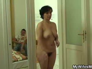 Son-in-law drills her old upslika entuk