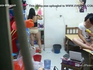 Peeping chinees universiteit dormitory en bathroom.2