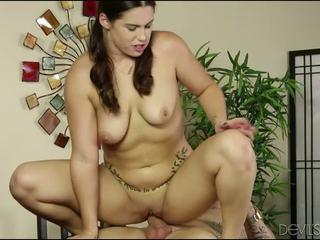Chubby Teen Riding Her Boyfriends Big Cock