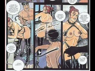 komiksai, bdsm art
