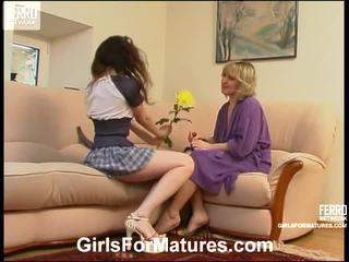 Virginia un juliet lezzy māte onto video