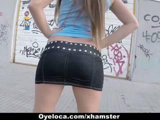 Oyeloca - Hungarian Babe Fucked in Public: Free HD Porn 8d