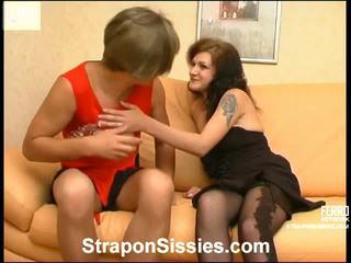 kwaliteit crossdress, strapon sex gratis, young girl in action