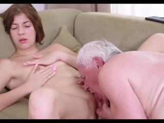 blowjob, old and young, cunnilingus