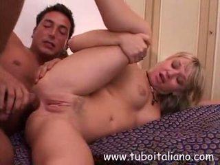 Italian Blonde Ex Girlfriend