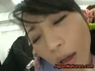Eldre natsumi kitahara i hot asiatisk homosexual 14 av japanmatures