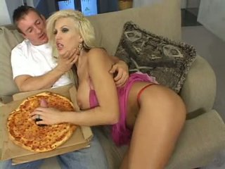 Her Favorite Cock In Pizza