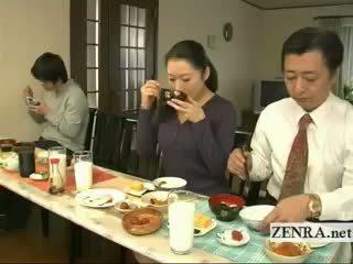 Subtitled bizarné japonské bottomless nie nohavičky rodina