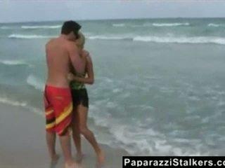 Paris Hilton Beach Paparazzi Discharged