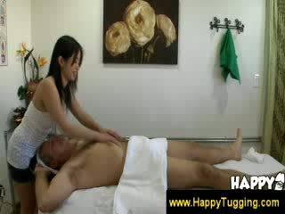Old Man gets a happy ending masaage