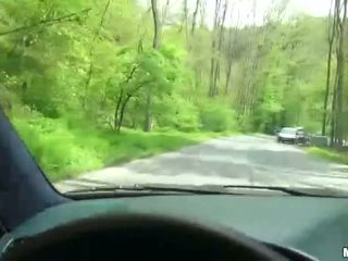 Beatrix gets saved by random car drive...
