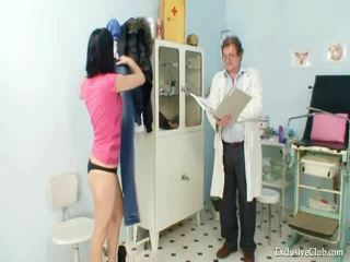 Pavlina gyno muff spekulum investigation pada kerusi untuk pemeriksaan sakit puan di keriting clinic