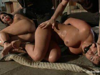 sexy yo yo cop girl, scared for a big cock