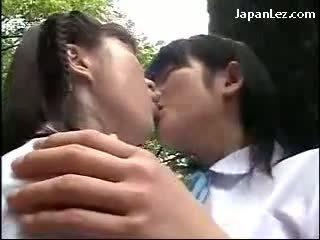 japānas, lesbiete, asian