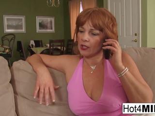 Sexy Redheaded MILF gets Cum on Her Big Tits: Free Porn 8f