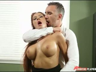 big tits, office, hardcore