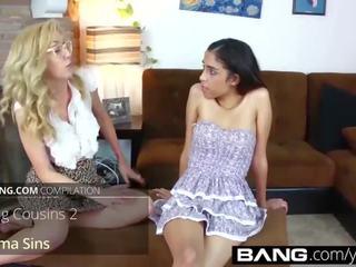 Bang.com: melhores de jovem grávida lésbicas compilação