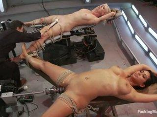 hardcore sex, toys, fucking machine