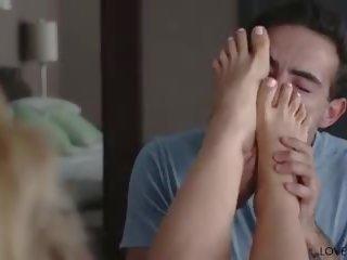 Loveherfeet - voet & anaal seks met tante cherie: hd porno a1