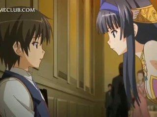 3d anime meitene teasing dzimumloceklis gets vāvere licked uz atgriešanās