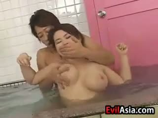 japanese, group sex, shower