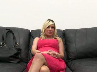 Zwanger achterkamer casting