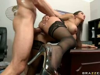 big tits, office, office sex